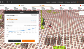 This Project Is Building a Metaverse for Trading Virtual Real Estate Based on Real World Maps