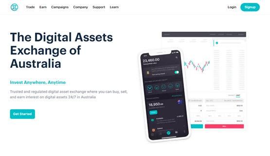 Zipmex Australia website