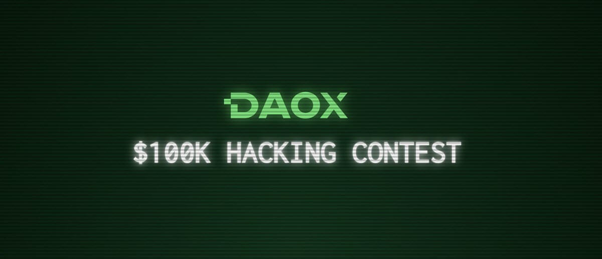 Hack the DAO: Blockchain Startup Daox to Announce a $100K Hacking Contest